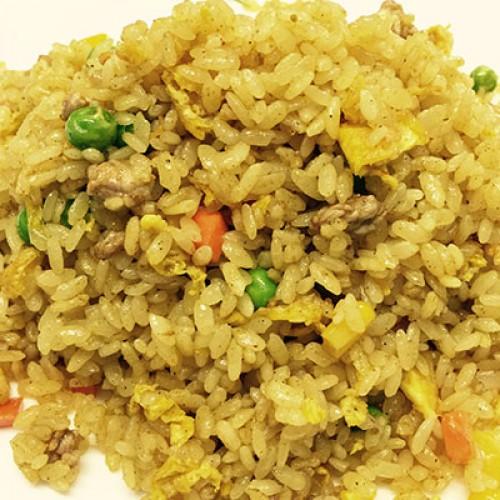 180 Riso con manzo al curry