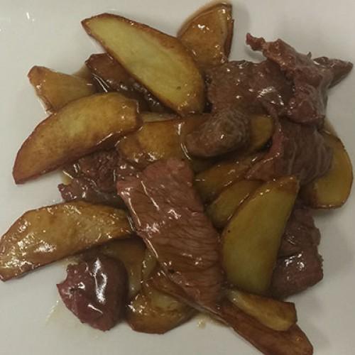 224 Manzo con patate