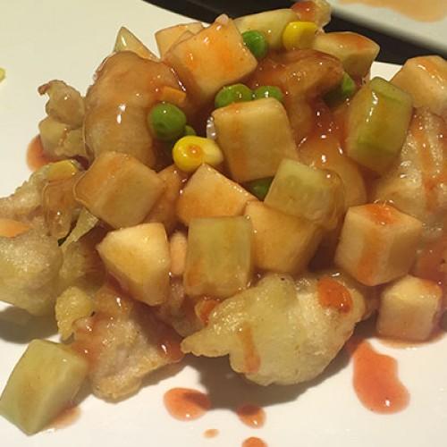 237 Pollo in salsa piccante